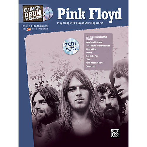 Alfred Pink Floyd - Ultimate Drum Play-Along (Book/2-CD Set)