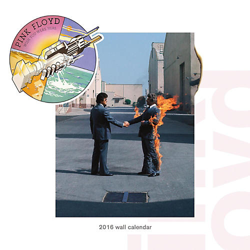 Browntrout Publishing Pink Floyd 2016 Calendar Square 12 x 12 In.