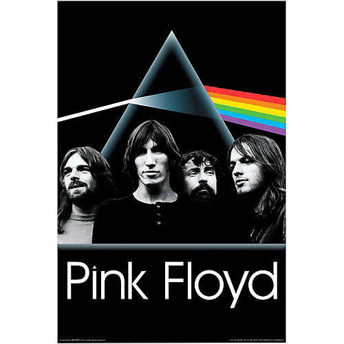 Hal Leonard Pink Floyd Dark Side of the Moon Group Wall Poster-thumbnail