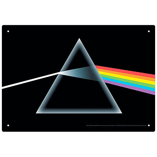 Hal Leonard Pink Floyd Dark Side of the Moon Tin Sign-thumbnail