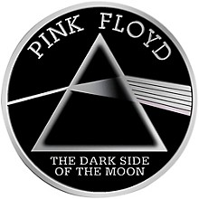 """C&D Visionary Pink Floyd """"The Dark Side of the Moon"""" Heavy Metal Sticker"""