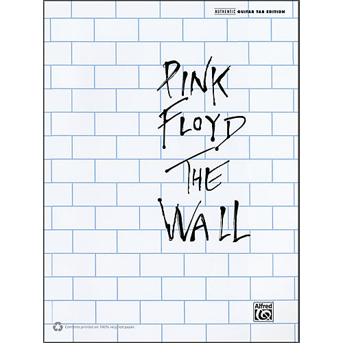 Alfred Pink Floyd The Wall Guitar Tab Book-thumbnail