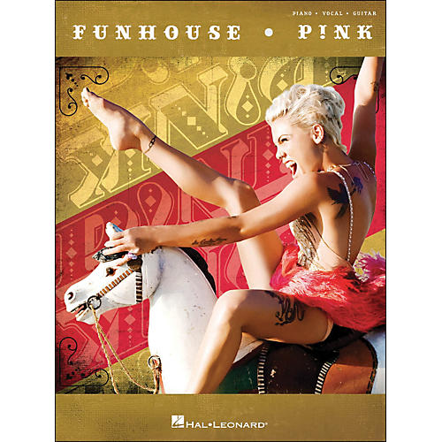Hal Leonard Pink Funhouse arranged for piano, vocal, and guitar (P/V/G)-thumbnail