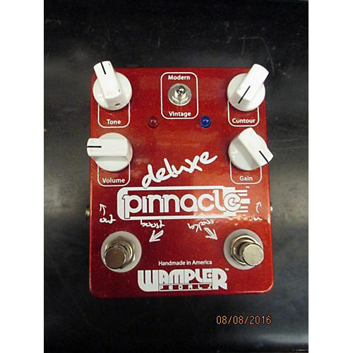 Wampler Pinnacle Deluxe Distortion Effect Pedal-thumbnail