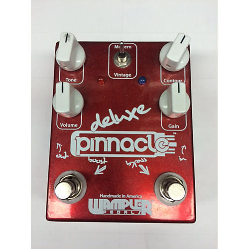 Wampler Pinnacle Deluxe Distortion Effect Pedal