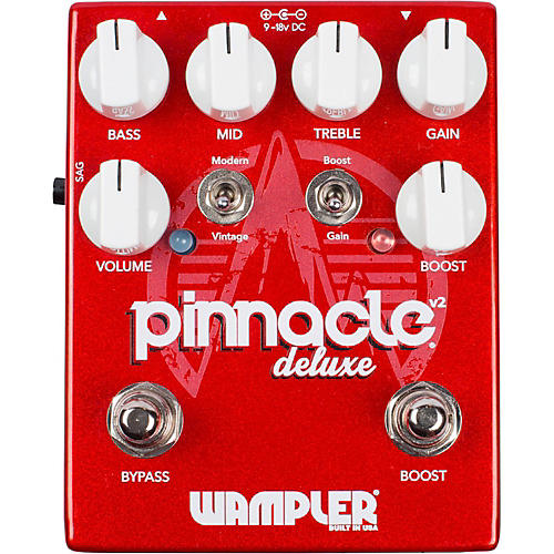 Wampler Pinnacle Deluxe Distortion Pedal-thumbnail