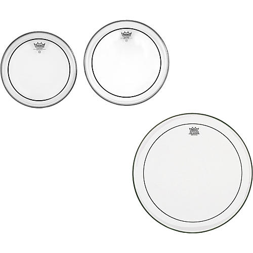 Remo Pinstripe Clear New Fusion Tom Drumhead Pack-thumbnail