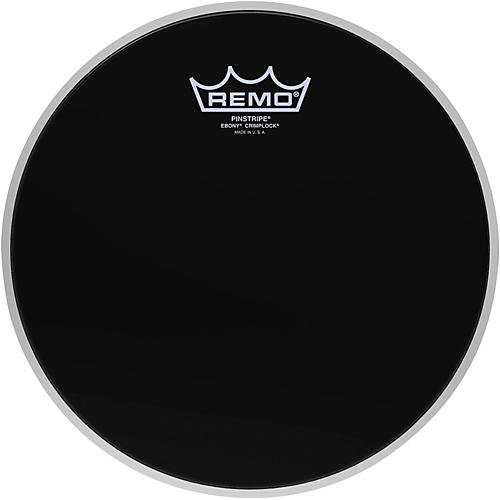 Remo Pinstripe Ebony Crimplock Drum Head-thumbnail