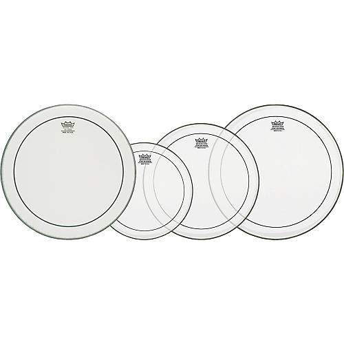 Remo Pinstripe and Powerstroke 3 Snare Drumheads Fusion ProPack-thumbnail
