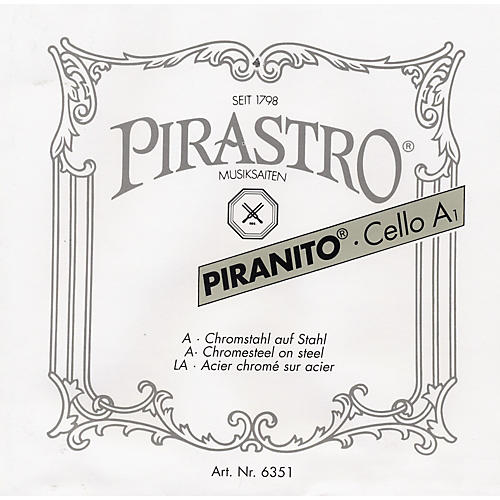 Pirastro Piranito Series Cello D String 4/4 Size