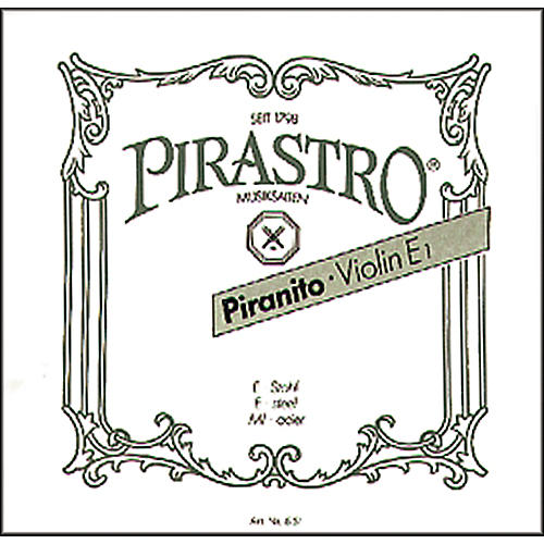 Pirastro Piranito Series Violin String Set 4/4 Size - A String Aluminum