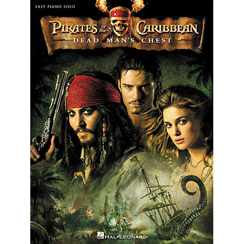 Hal Leonard Pirates Of The Caribbean - Dead Man's Chest For Easy Piano Solo-thumbnail