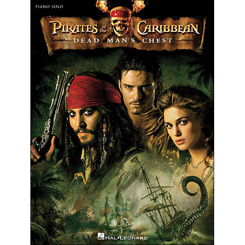 Hal Leonard Pirates Of The Caribbean - Dead Man's Chest Piano Solo