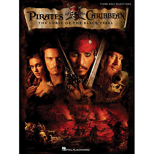 Hal Leonard Pirates Of The Caribbean - The Curse Of The Black Pearl arranged for piano solo-thumbnail