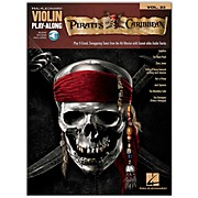 Hal Leonard Pirates Of The Caribbean - Violin Play-Along Volume 23 Book/CD