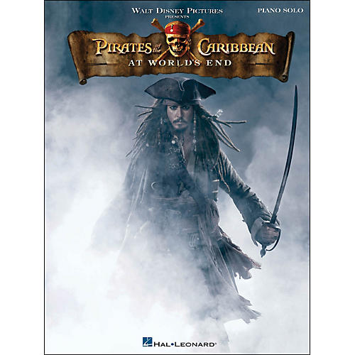 Hal Leonard Pirates Of The Caribbean: At World's End arranged for piano solo-thumbnail