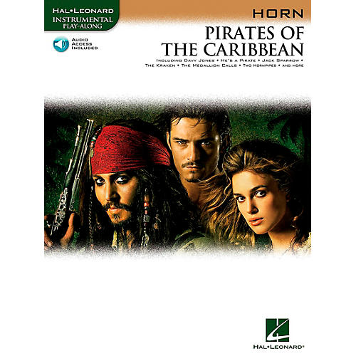 Hal Leonard Pirates Of The Caribbean for French Horn Instrumental Play-Along Book/Online Audio