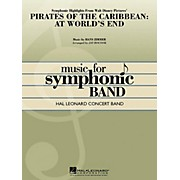 Hal Leonard Pirates of the Caribbean: At World's End Symphonic Highlights Concert Band Level 4-5