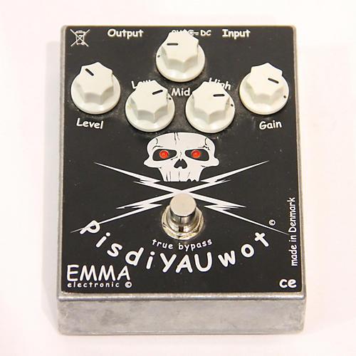 Emma Electronic PisdiYAUwot Metal Distortion Effect Pedal-thumbnail