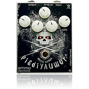 Emma Electronic PisdiYAUwot Metal Distortion Guitar Effects Pedal by Emma Electronic