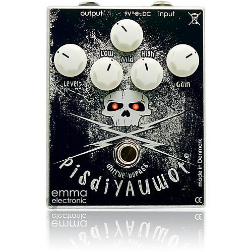 Emma Electronic PisdiYAUwot Metal Distortion Guitar Effects Pedal-thumbnail