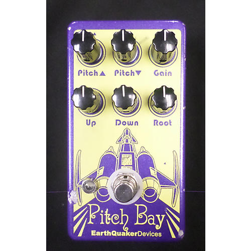 Earthquaker Devices Pitch Bay Polyphonic Harmonizer And Distortion Generator Effect Pedal-thumbnail