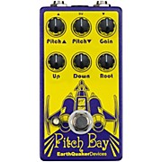 Earthquaker Devices Pitch Bay Polyphonic Harmonizer and Distortion Generator Guitar Effects Pedal