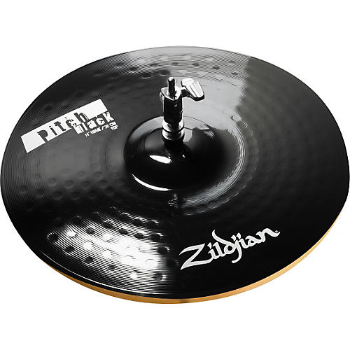 Zildjian Pitch Black Hi-hat Cymbal Pair-thumbnail