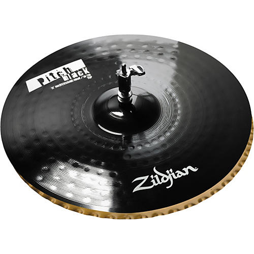 Zildjian Pitch Black Mastersound Hi-hat Cymbal Pair