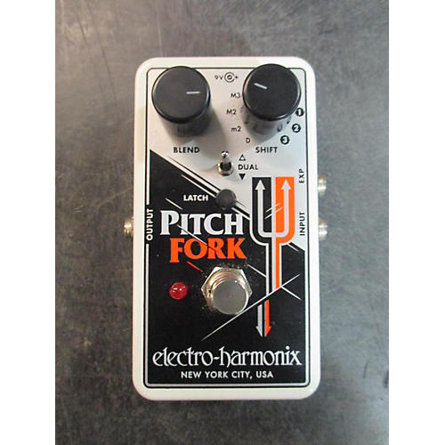 Electro-Harmonix Pitch Fork Polyphonic Pitch Shifting Effect Pedal-thumbnail