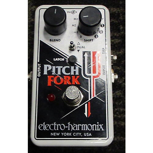 Electro-Harmonix Pitch Fork Polyphonic Pitch Shifting Effect Pedal