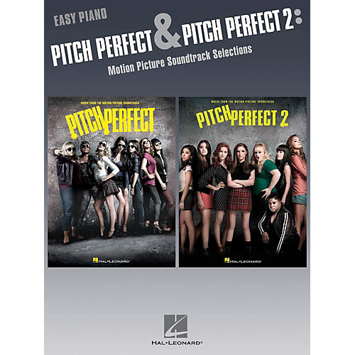 Hal Leonard Pitch Pefect & Pitch Perfect 2 - Motion Picture Soundtrack Selections for Easy Piano-thumbnail