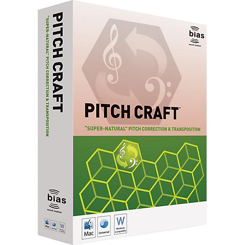 Bias PitchCraft Plug-In Software