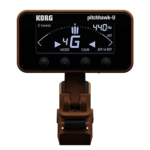 Korg Pitchhawk Ukulele Clip-On Tuner-thumbnail