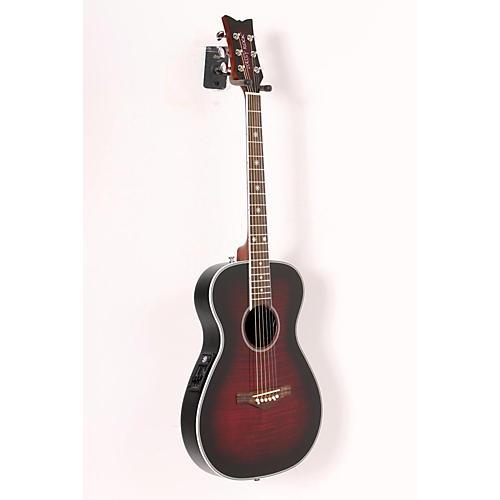 Daisy Rock Pixie Acoustic-Electric Guitar Plum Purple Burst 888365110547