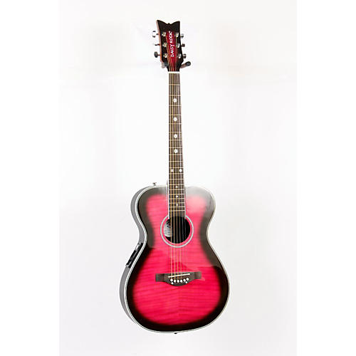 Daisy Rock Pixie Acoustic-Electric Guitar Plum Purple Burst 888365253213