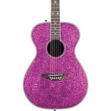 Pixie Acoustic-Electric Guitar Pink Sparkle