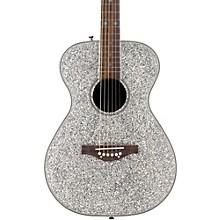 Pixie Acoustic Guitar Silver Sparkle