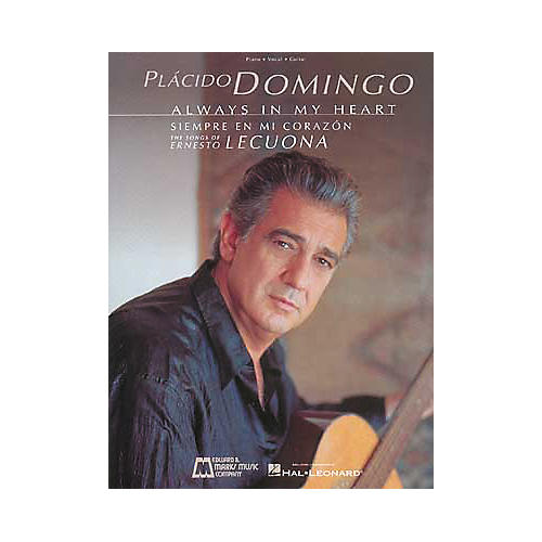 Edward B. Marks Music Company Placido Domingo Always in My Heart Piano, Vocal, Guitar Songbook Collection-thumbnail