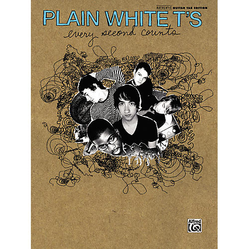 Alfred Plain White T's - Every Second Counts Guitar Tab Book