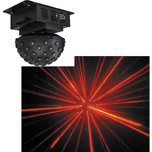 Omnisistem Planet Galaxy Centerpiece Red Laser Effect