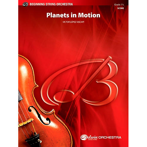 Alfred Planets in Motion String Orchestra Grade 1.5 Set-thumbnail