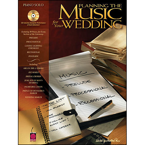 Cherry Lane Planning The Music for Your Wedding arranged for piano solo-thumbnail