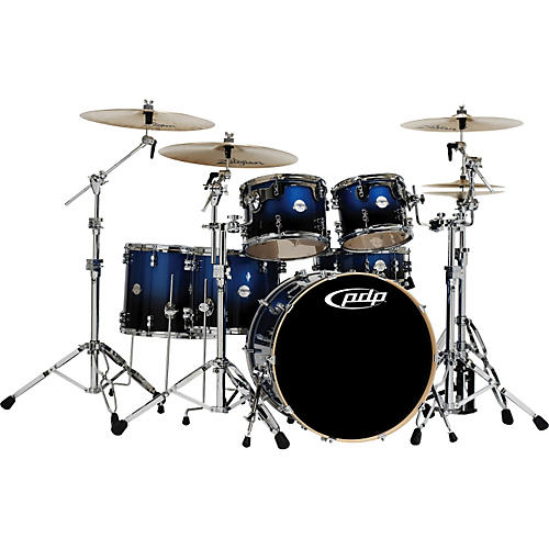 PDP by DW Platinum 6 Piece Rock Shell Pack