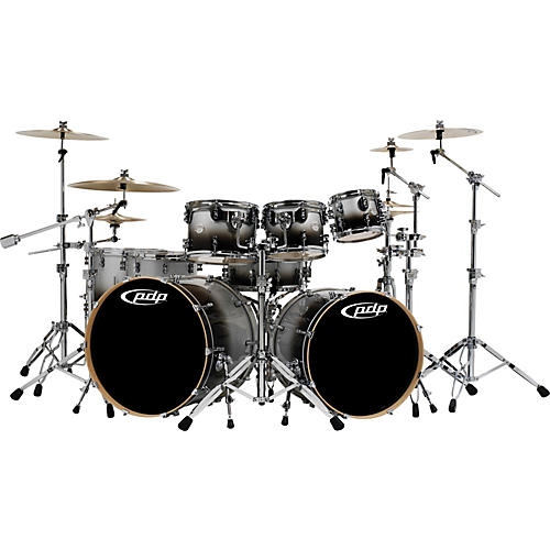 PDP by DW Platinum 7 Piece Double Bass Shell Pack