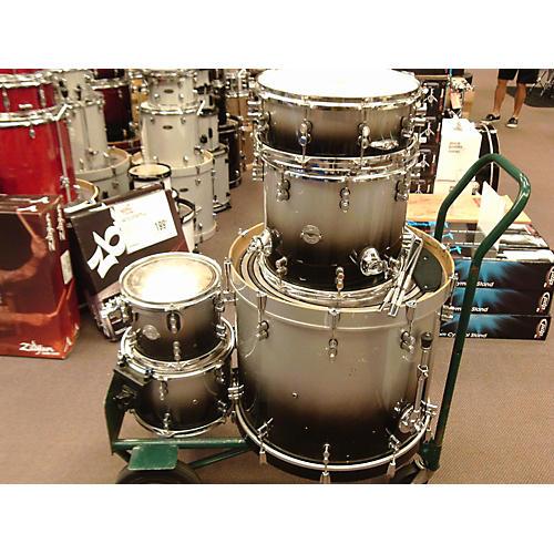 PDP Platinum Drum Kit Silver to Black Fade