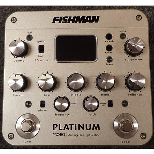 Fishman Platinum EQ Pre With DI Exciter-thumbnail
