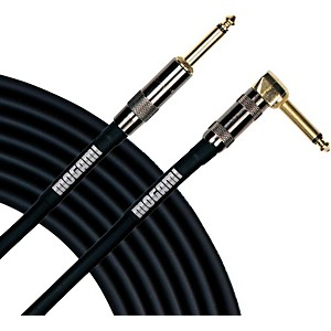 Mogami Platinum Instrument Cable with Right Angle to Straight End Connector...