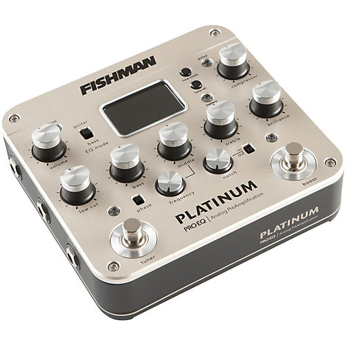 Fishman Platinum Pro EQ Acoustic Guitar Preamp-thumbnail