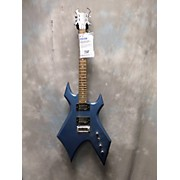 B.C. Rich Platinum Warlock Solid Body Electric Guitar